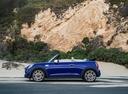 Фото авто Mini Cabrio F57 [рестайлинг], ракурс: 90 цвет: синий