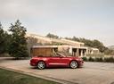 Фото авто Ford Mustang 6 поколение [рестайлинг], ракурс: 270 цвет: красный