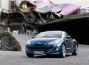 Фото авто Peugeot RCZ 1 поколение, ракурс: 45 цвет: синий