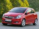 Фото авто Opel Corsa D, ракурс: 45 цвет: красный