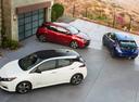 Фото авто Nissan Leaf 2 поколение, ракурс: сверху