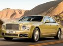 Фото авто Bentley Mulsanne 2 поколение [рестайлинг], ракурс: 45 цвет: желтый