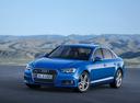 Фото авто Audi A4 B9, ракурс: 45 цвет: голубой