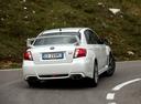Фото авто Subaru Impreza 3 поколение [рестайлинг], ракурс: 180 цвет: белый