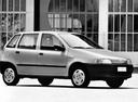 Фото авто Fiat Punto 1 поколение, ракурс: 315 цвет: серый
