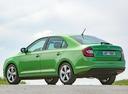 Фото авто Skoda Rapid 3 поколение [рестайлинг], ракурс: 135 цвет: зеленый