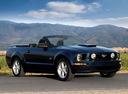 Фото авто Ford Mustang 5 поколение, ракурс: 315 цвет: синий