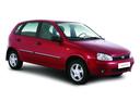 Фото авто ВАЗ (Lada) Kalina 1 поколение, ракурс: 315 цвет: красный
