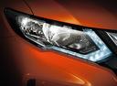 Фото авто Nissan X-Trail T32 [рестайлинг], ракурс: передние фары цвет: оранжевый