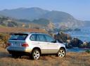 Фото авто BMW X5 E53, ракурс: 225 цвет: серебряный