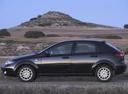 Фото авто Chevrolet Lacetti 1 поколение, ракурс: 90 цвет: черный