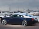 Фото авто Rolls-Royce Wraith 2 поколение, ракурс: 135 цвет: голубой
