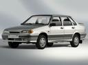 Фото авто ВАЗ (Lada) 2115 1 поколение, ракурс: 45 - рендер цвет: серебряный