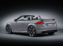 Фото авто Audi TT 8S, ракурс: 135 цвет: серый