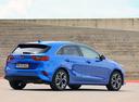 Фото авто Kia Cee'd 3 поколение, ракурс: 225 цвет: синий