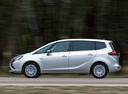 Фото авто Opel Zafira C, ракурс: 90 цвет: белый