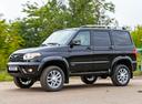 Фото авто УАЗ Patriot 2 поколение, ракурс: 45 цвет: черный