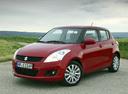 Фото авто Suzuki Swift 4 поколение, ракурс: 45 цвет: красный