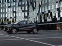 Фото авто Renault Kaptur 1 поколение, ракурс: 90 цвет: черный