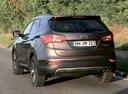 Фото авто Hyundai Santa Fe DM, ракурс: 135 цвет: коричневый
