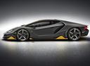 Фото авто Lamborghini Centenario 1 поколение, ракурс: 90 цвет: серый
