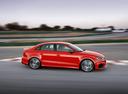Фото авто Audi RS 3 8VA [рестайлинг], ракурс: 270 цвет: красный