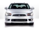 Фото авто Mitsubishi Lancer X, ракурс: 0 - рендер цвет: белый