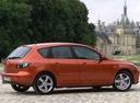 Фото авто Mazda 3 BK, ракурс: 270 цвет: бронзовый