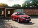 Фото авто Skoda Rapid 3 поколение [рестайлинг], ракурс: 315 цвет: красный