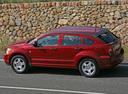 Фото авто Dodge Caliber 1 поколение, ракурс: 90 цвет: красный