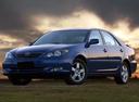 Фото авто Toyota Camry XV30, ракурс: 45 цвет: синий