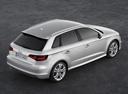 Фото авто Audi A3 8V, ракурс: 225 цвет: серебряный