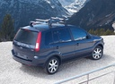 Фото авто Ford Fusion 1 поколение [рестайлинг], ракурс: сверху цвет: синий
