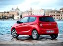 Фото авто Opel Karl 1 поколение, ракурс: 135 цвет: красный