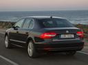 Фото авто Skoda Superb 2 поколение [рестайлинг], ракурс: 135 цвет: коричневый