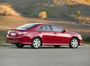 Фото авто Toyota Camry XV40, ракурс: 225 цвет: красный