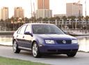Фото авто Volkswagen Jetta 4 поколение, ракурс: 315 цвет: фиолетовый