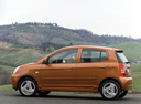 Фото авто Kia Picanto 1 поколение, ракурс: 90 цвет: коричневый