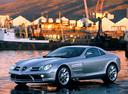 Фото авто Mercedes-Benz SLR-Класс C199, ракурс: 90 цвет: серебряный