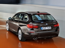 Фото авто BMW 5 серия F07/F10/F11 [рестайлинг], ракурс: 135 цвет: коричневый