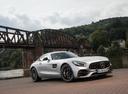 Фото авто Mercedes-Benz AMG GT C190 [рестайлинг], ракурс: 315 цвет: серебряный