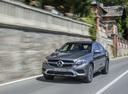 Фото авто Mercedes-Benz GLC-Класс X253/C253, ракурс: 45 цвет: серый