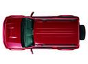 Фото авто Suzuki Jimny 3 поколение [2-й рестайлинг], ракурс: сверху цвет: красный