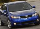 Фото авто Kia Cerato 2 поколение, ракурс: 315 цвет: синий