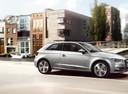 Фото авто Audi A3 8V, ракурс: 90 цвет: серебряный