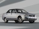 Фото авто ВАЗ (Lada) Priora 1 поколение, ракурс: 315 цвет: серебряный