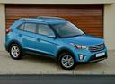 Фото авто Hyundai Creta 1 поколение, ракурс: 315 цвет: голубой