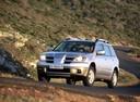 Фото авто Mitsubishi Outlander 1 поколение, ракурс: 45 цвет: серебряный