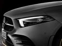 Фото авто Mercedes-Benz A-Класс W177/V177, ракурс: передние фары цвет: серый