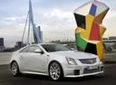 Фото авто Cadillac CTS 2 поколение, ракурс: 315 цвет: серебряный